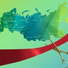 Карта России TSD-invent